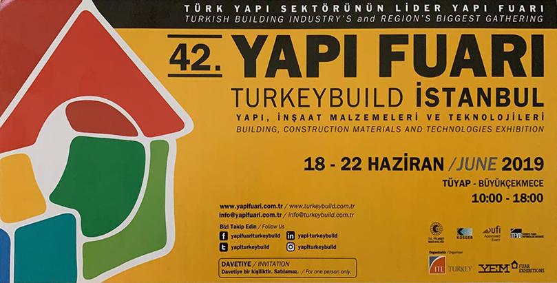42. YAPI FUARI TURKEYBUILD İSTANBUL